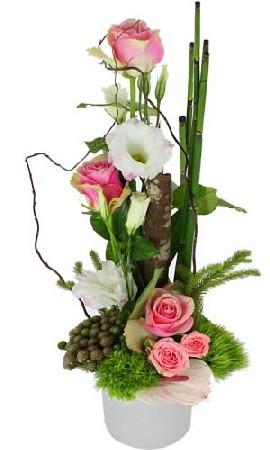 composition lin&eacute;aire ( divers couleurs et fleurs)<br /> A partir de 50.-