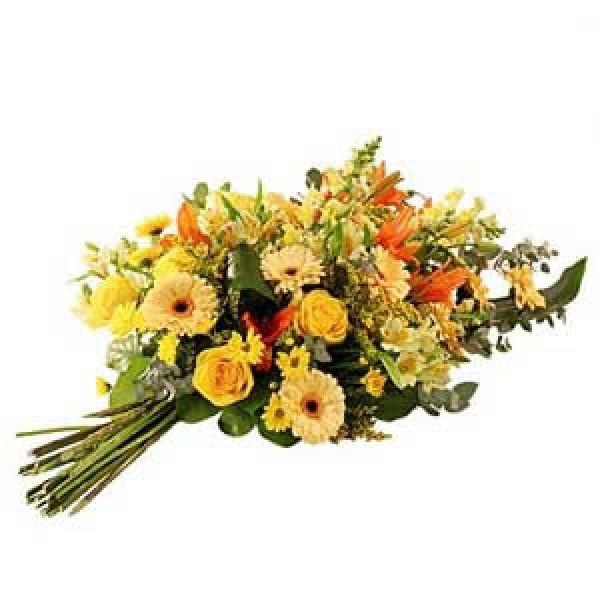 bouquet de deuil<br /> A partir de 80.-<br />       +<br /> Ruban 50